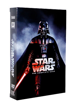 Star Wars: The Complete Saga 12-Disc Box Set DVD 1-6 ***New W/slipcover***