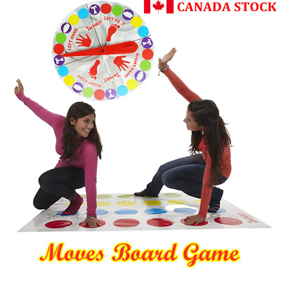 Classic Funny Family Moves Board Game Children Friend Body Games Funny p