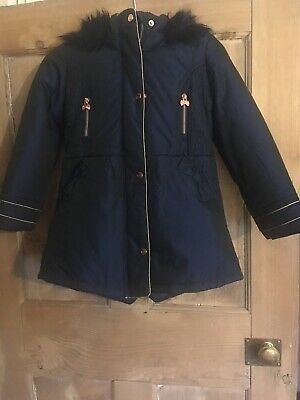 girls ted baker coat age 8 Worn Once!