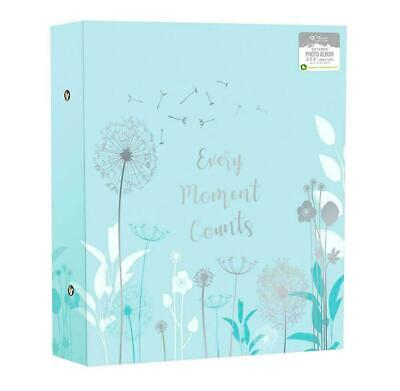 "Large Photo Album Ringbinder Dandelion Memories Holds 500 6""x4"" Photos JALG"