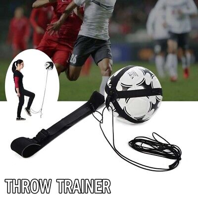 Football Practice Aid Self Training Kick Trainer Aid Equipment Waist Belt