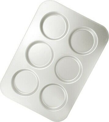 Anodized 6 Topster Cup Muffin Pan - Hot Stuff Bakeware