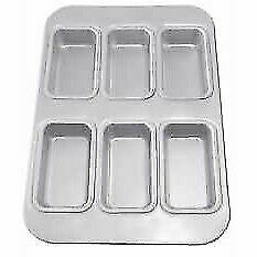 Anodized 6 Loaf Cup Muffin Pan - Hot Stuff Bakeware