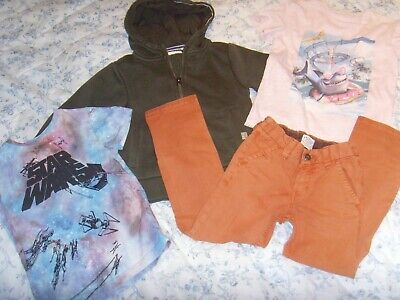 Boys Clothes Bundle - Hoodie, Star Wars t-shirt, Jeans - Age 4 Years - NEXT