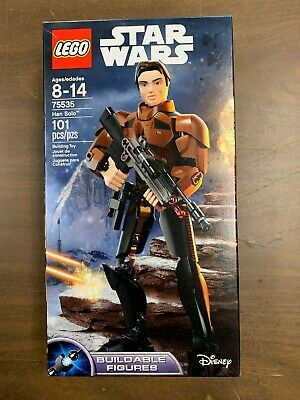 LEGO Star Wars Buildable Figures Han Solo #75535