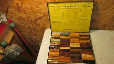 Antique Golden Star Lacquer Sticks- OB  Furniture Repair