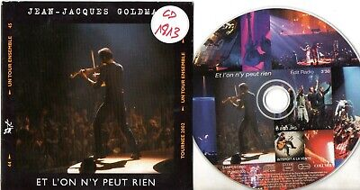 CD SINGLE Jean-Jacques GOLDMANEt l'on n'y peut rien Promo 1 track CARD SLEEVE