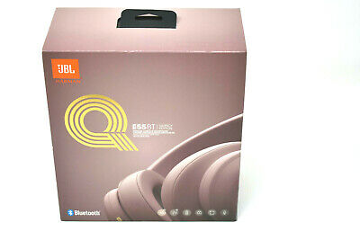 JBL Harman E55BT Quincy Edition Pink Wireless Over Ear Headphones-Sealed