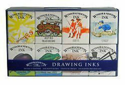 Winsor & Newton Drawing Ink Set of 8 - William