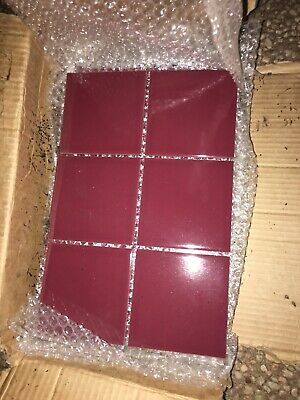 Ceramic tiles red terracotta approx 30cm/20 cm