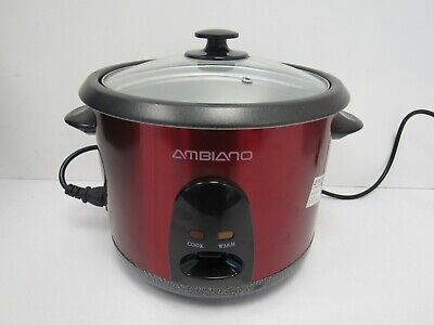 Ambiano Rice Cooker with Instructions - SHI S3