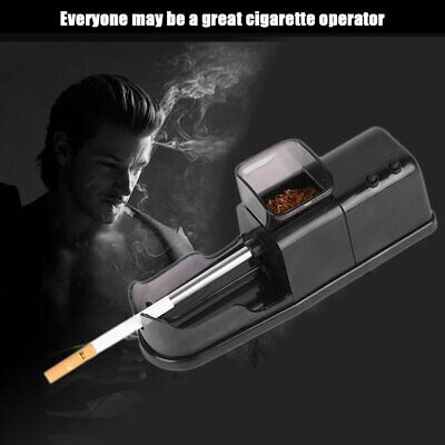 Portable Electric Cigarette Rolling Machine Automatic Injector Diy Maker ♫T