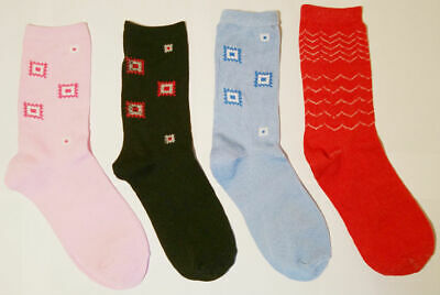 12 NEW PAIRS GIRLS STRIPE MULTI COLOUR DAY TO DAY SOCKS SIZE 4-7 SMART CASUAL
