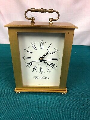 Vintage Foster Callear Brass Carriage Clock