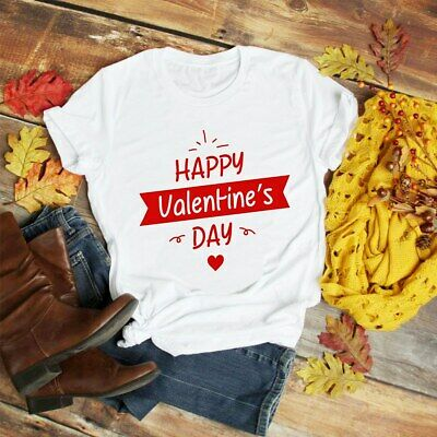 HAPPY VALENTINE/'S DAY HEART LOVE LUST ROMANCE FUNNY MENS LADIES GIFT TOP JUMPER