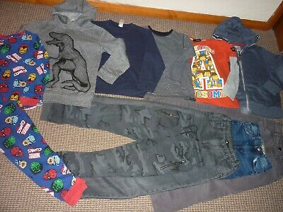 Bundle Boys Clothes age 8-9yrs Next Marvel  Jeans Joggers Tops Pyjamas Hoodie