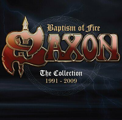 Saxon - Baptism Of Fire / Collection 1991-2009 / Best Of / Greatest Hits 2CD