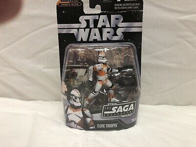 "STAR WARS #The Saga Collection R""evenge of the Sith"" CLONE TROOPER Figure NIB"