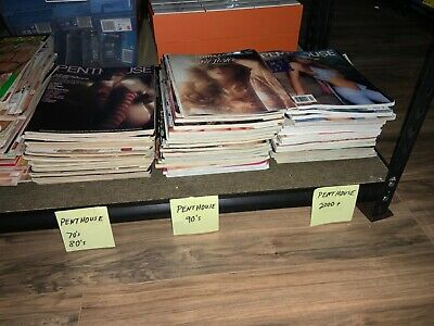 1970'S Penthouse Pent House Mens Magazine Collection