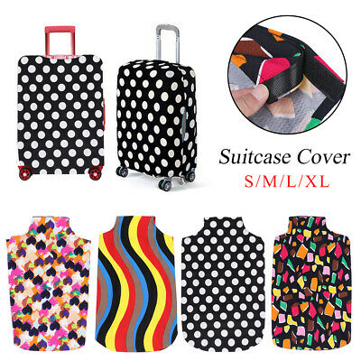 Anti-scratch Elastic Fabric Luggage Cover Travel Trolley Case Baggage Protector