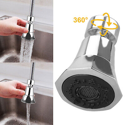 Kitchen Sink Faucet Spray Head 360°Swivel Pull-Out Spray Head Replacement P L0G3