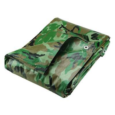 Silverline Waterproof Camouflage Tarpaulin Ground Sheet Outdoor Cover Camping