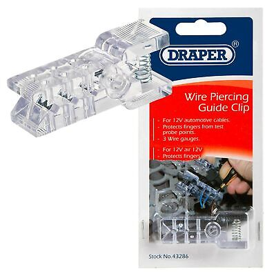 Draper Vehicle Wire Piercing Test Probe Guide Clip Automotive Tool 43286 WPG1