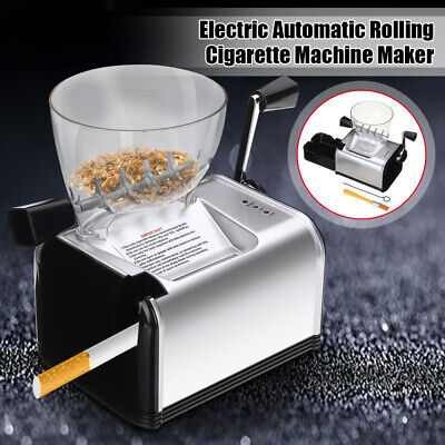 Electric Cigarette Rolling Machine Automatic Roller Injector Maker for 8mm Tube