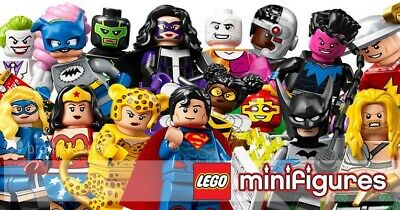 Lego 71026 Minifigures Complete Set Of 16 NEW Series DC Superheroes Minifigs