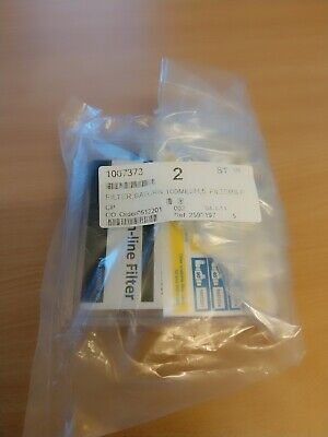 2 packets (10 pcs) New and Sealed Nordson Saturn In-Line filter 1007373