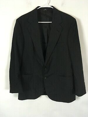 Mens Ralph Lauren Suit Polo University Club Gray Wool Size 40R 35x29