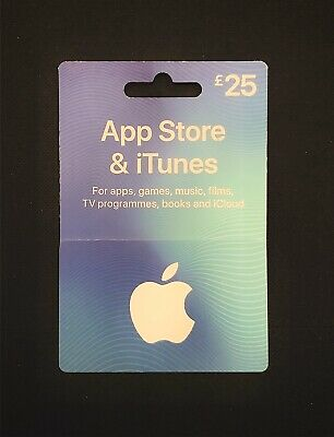 £25 App Store & iTunes Gift Card (Unwanted Gift)