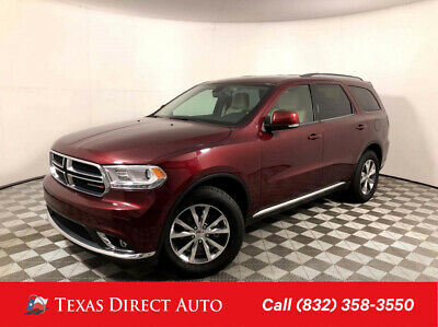 2016 Dodge Durango Limited Texas Direct Auto 2016 Limited Used 3.6L V6 24V Automatic RWD SUV