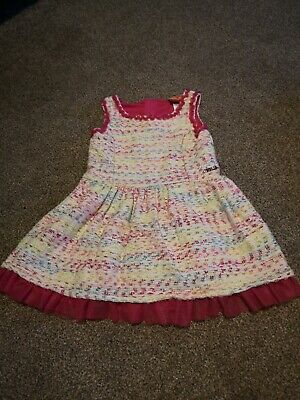 Lovely Girls Tweed Style Trolls Dress Age 3 Excellent Condition