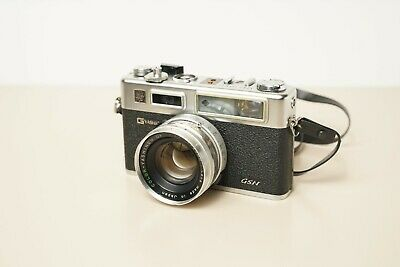 Yashica GSN | Analog Camera | Telemeter vintage | Good Condition |with 45mm f1.7