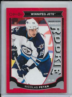 15-16 O-Pee-Chee Update Marquee Rookie Red Border #U29 Nicolas Petan Rc Jets