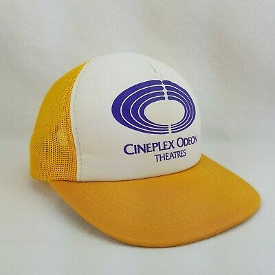 Vintage Cineplex Odeon Theatres Movie Promo Trucker Hat Cap Snapback