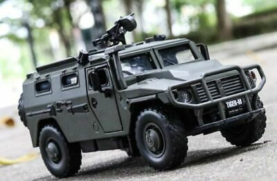 1:32 Hummer M1046 Military car Armored vehicle with sound light alloy kids toy