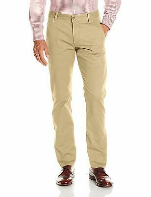 Dockers Mens Pants Beige Size 30x32Slim Fit Tapered Khakis Chinos $68 144