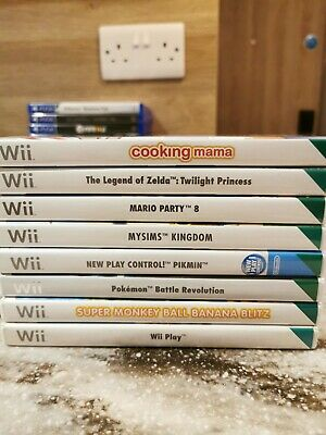 Assorted Wii Games Excellent condition **FREE 1st Class UK Postage**