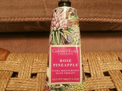 Crabtree and Evelyn rose pineaple  hand cream Brand new (2)