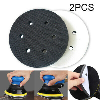 Sponge Interface Pads 6 Holes Cushion Discs Protection Sander Workshop
