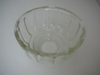 Vintage Glass Jelly Mould Mold Collectable Kitsch