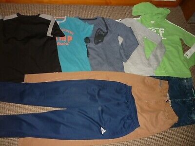 Bundle Boys Clothes age 11-12yrs Sonneti  Abercrombie Adidas Jeans Tops Hoodi