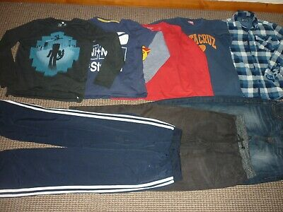 Bundle Boys Clothes age 9-10yrs Next  Santa Cruz  Jeans  Tops  Joggers