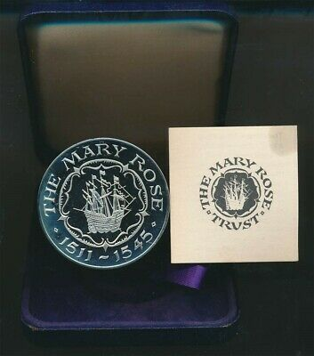 Great Britain: The Mary Rose Flagship 1511-1534 44mm Proof Medal cased w Cert