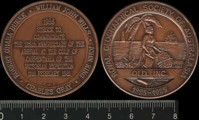 Australia: 1985 Royal Geographical Society of Australasia QLD Centenary medal