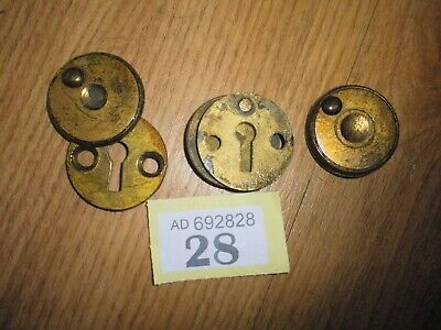 3 X Safe Door Key Hole Cover Plates