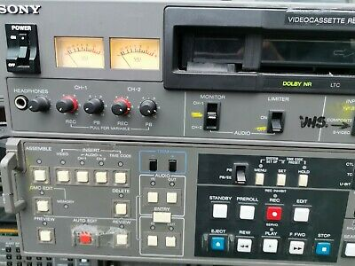 Sony Betacam SP Recorder PVW-2800P 860 HOURS PLAYED NO RECORDED HOURS NEW DRUM
