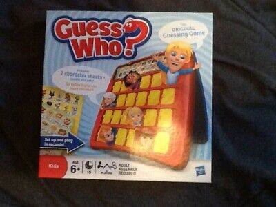 GUESS WHO BOARD GAME by HASBRO